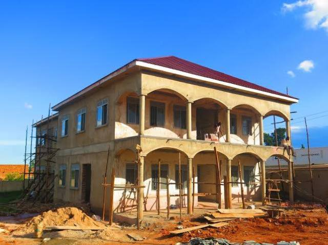 The outpatient wing of the Musana Health Center (photo courtesy Musana CDO).